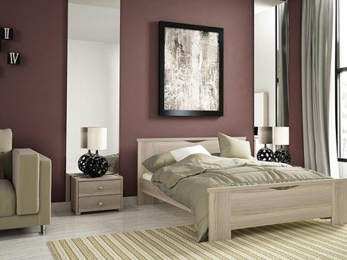 Ξύλινα διπλά κρεβάτια