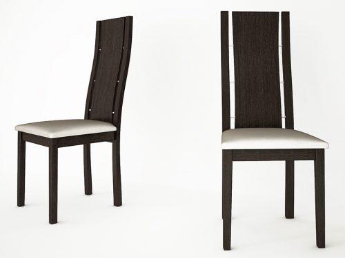 καρέκλα a502-wenge-1