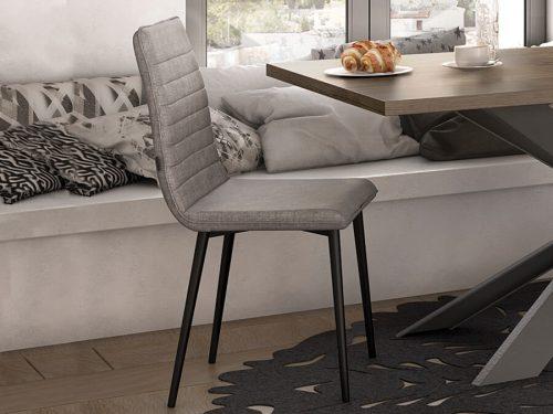 καρέκλα GLORIA-gray-1