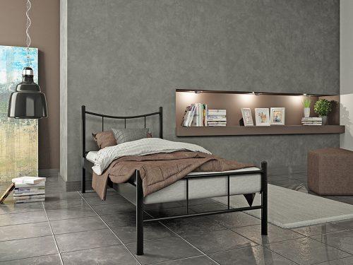 Μεταλλικά μονά κρεβάτια