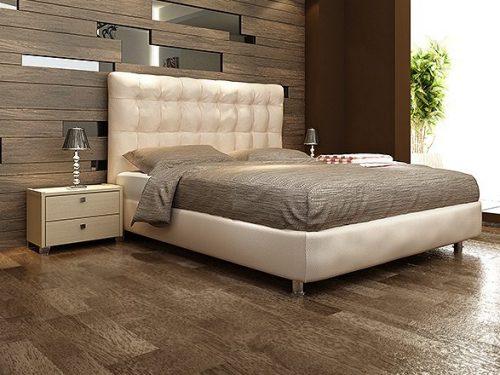 Ντυμένα διπλά κρεβάτια