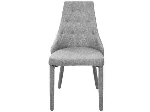 Καρέκλα ROYAL με ύφασμα και ντυμένα πόδια.