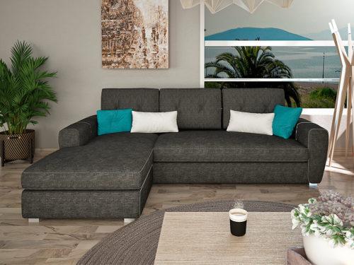 Γωνιακός καναπές CRYSTAL